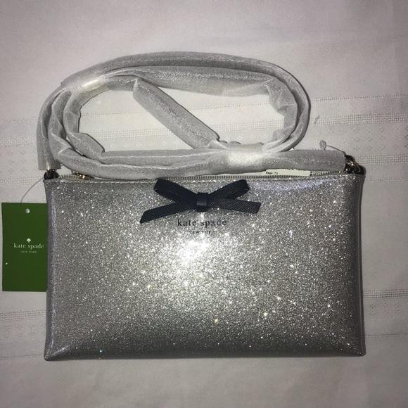 kate spade Handbags - NWT Kate Spade Mavis Street Amy  glitter sparkly